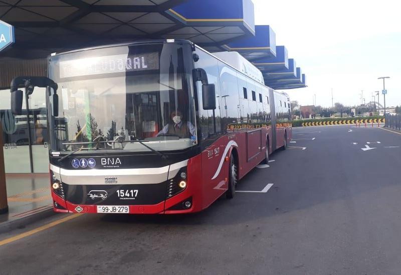 В Азербайджане общественный транспорт не будет работать неделю