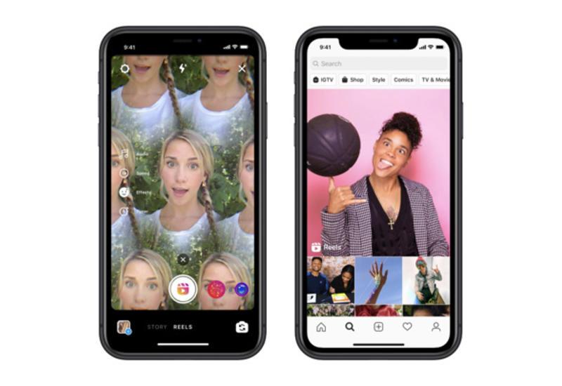 Instagram запустил конкурента TikTok