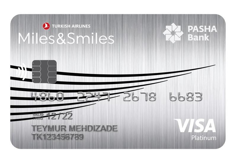 Новая милевая карта PASHA Bank Miles&Smiles Visa Platinum со скидкой в 50%: современные возможности стали еще доступнее! (R)