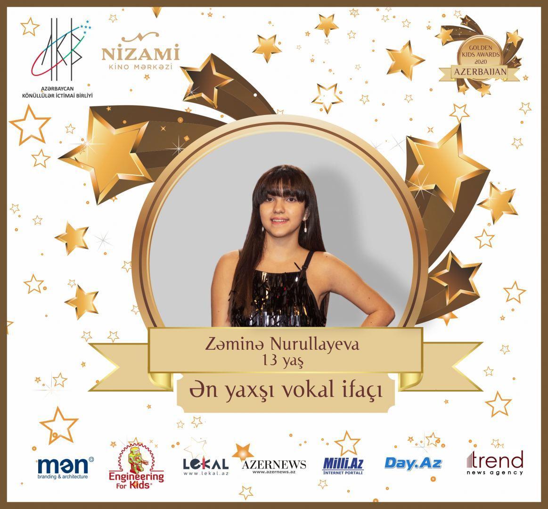 Церемония награждения Azerbaijan Golden Kids Awards 2020 пройдет в онлайн-формате
