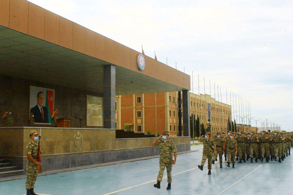 В ВС Азербайджана начался летний период обучения