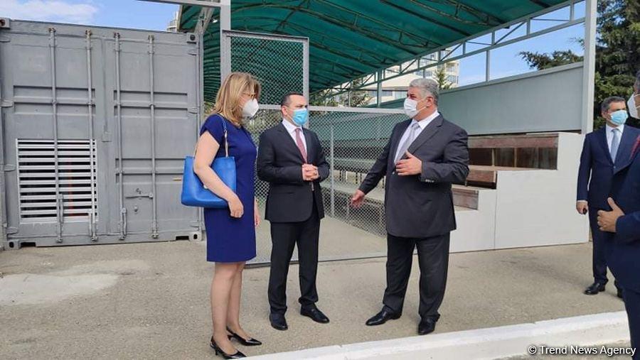 Говсанский олимпийский спортивный комплекс сдан в эксплуатацию как больница модульного типа