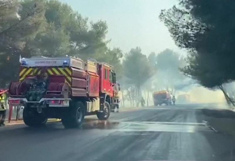 Природные пожары во Франции: 22 пострадавших, почти 3 тысячи – эвакуированы
