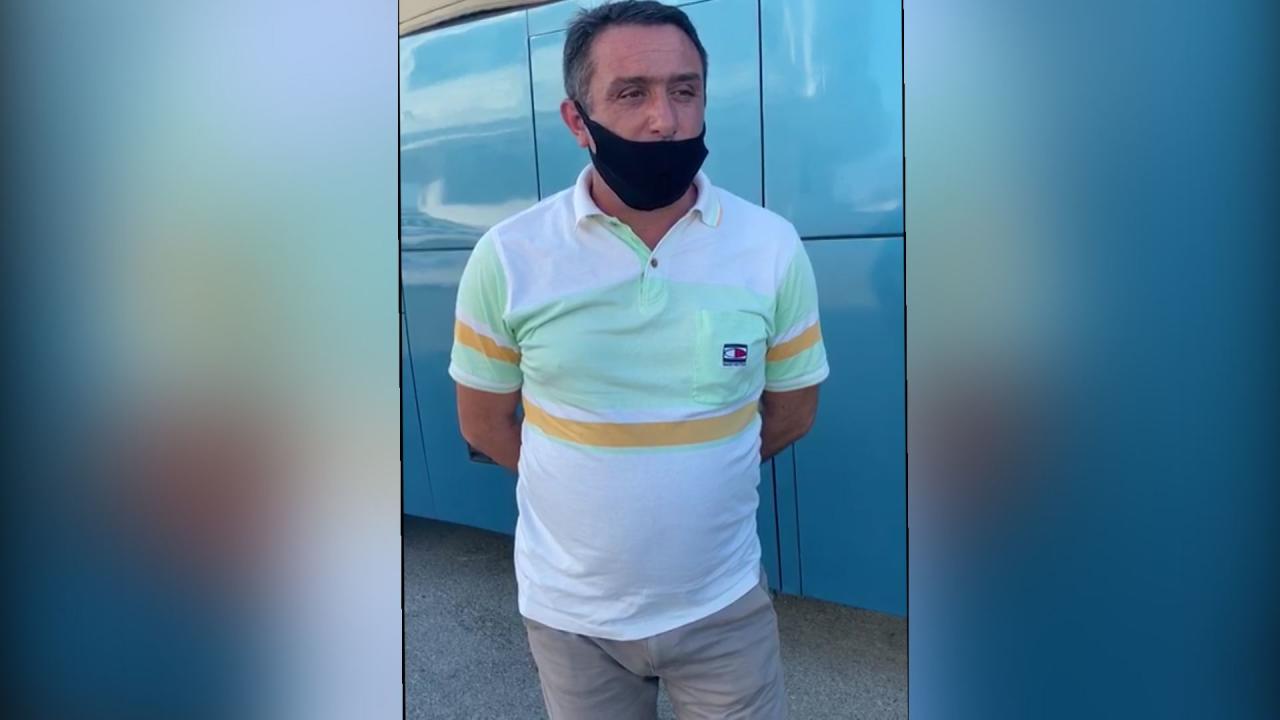 Задержан водитель, перевозивший пассажиров из Баку в Лерик