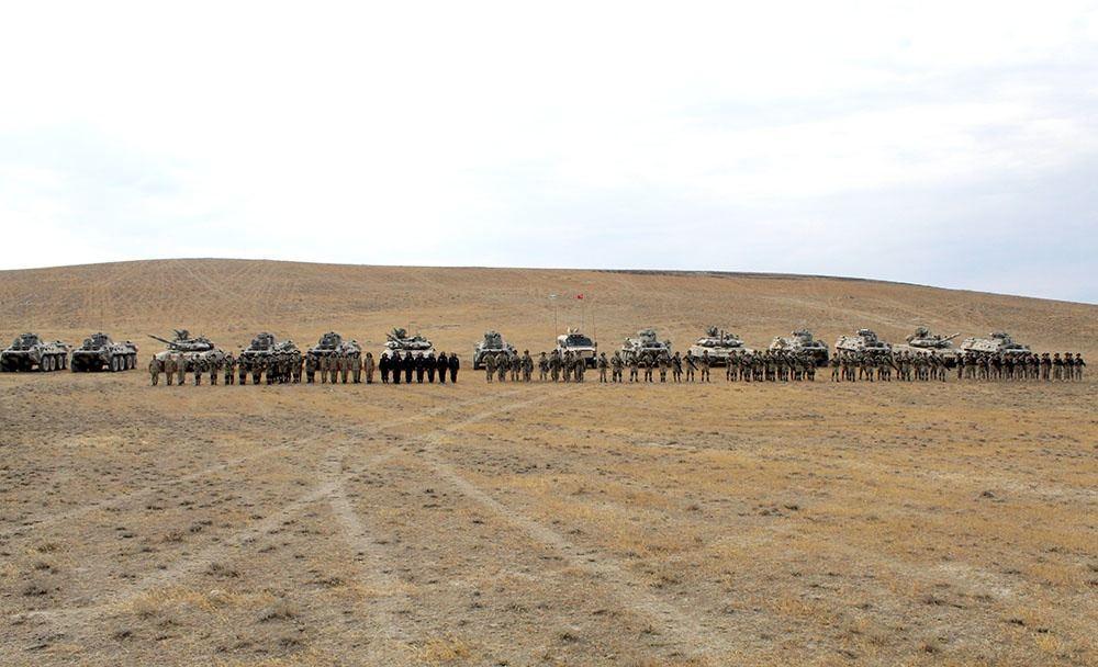 Азербайджанские и турецкие военнослужащие выполнили различные элементы совместных учений