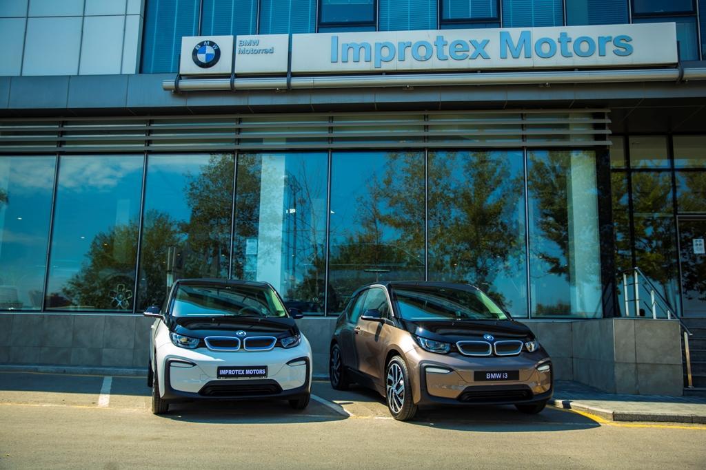 Компания IMPROTEX MOTORS впервые представила электромобиль - BMW i3 (R)