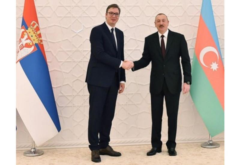 Состоялся телефонный разговор между Президентом Ильхамом Алиевым и Президентом Сербии