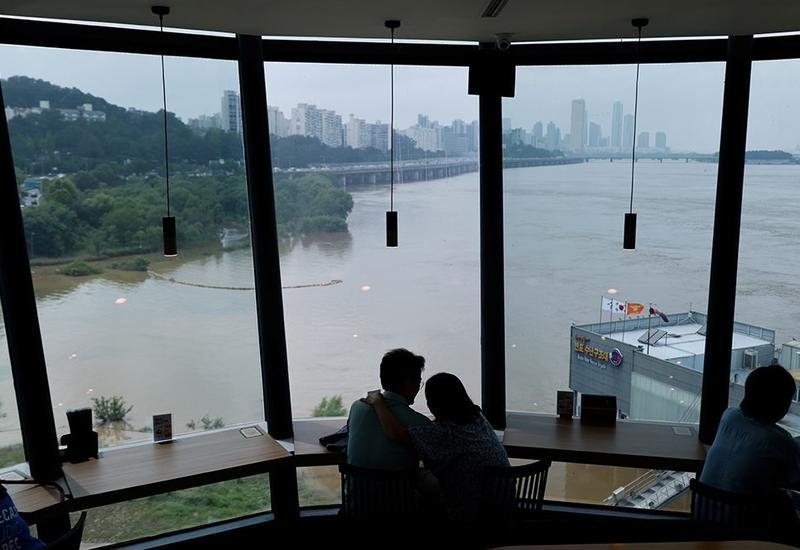 Аномальные дожди и наводнение в Южной Корее