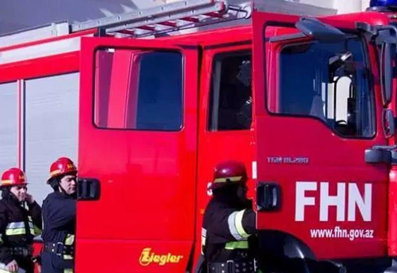 Пожар в Хырдалане