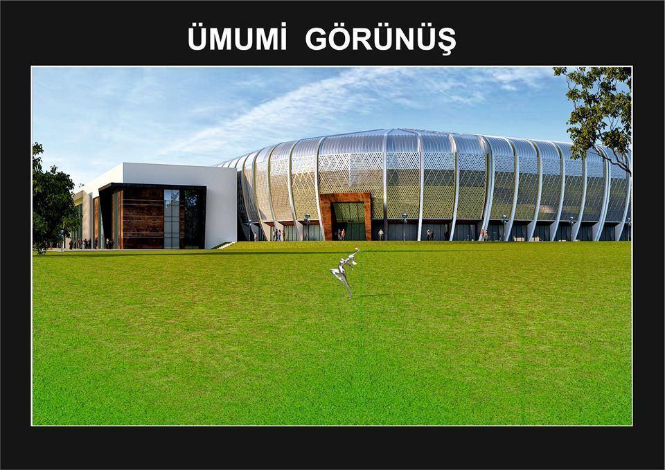 В Азербайджане строится уникальнейший в мире стадион