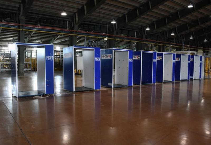 Азербайджан будет экспортировать дезинфекционные тоннели