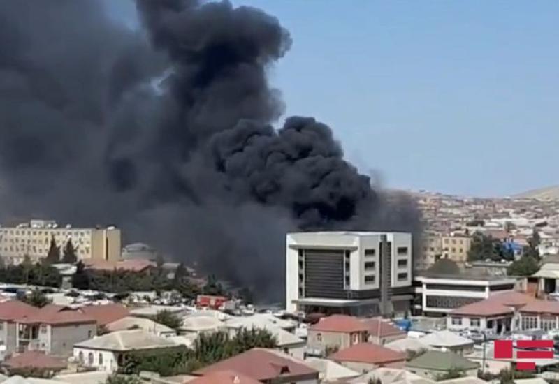 В Хырдалане произошел пожар