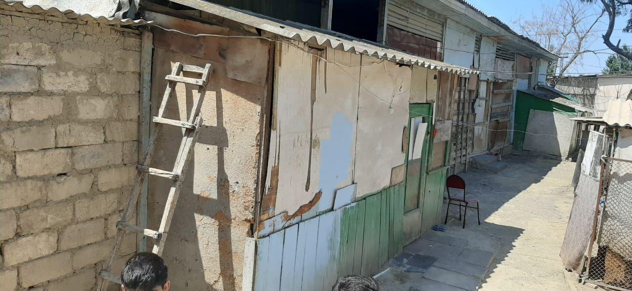 В Мингячевире произошел оползень, пострадали дома