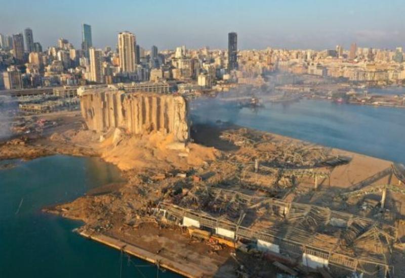 Взрыв в Бейруте привел к образованию воронки глубиной 43 м