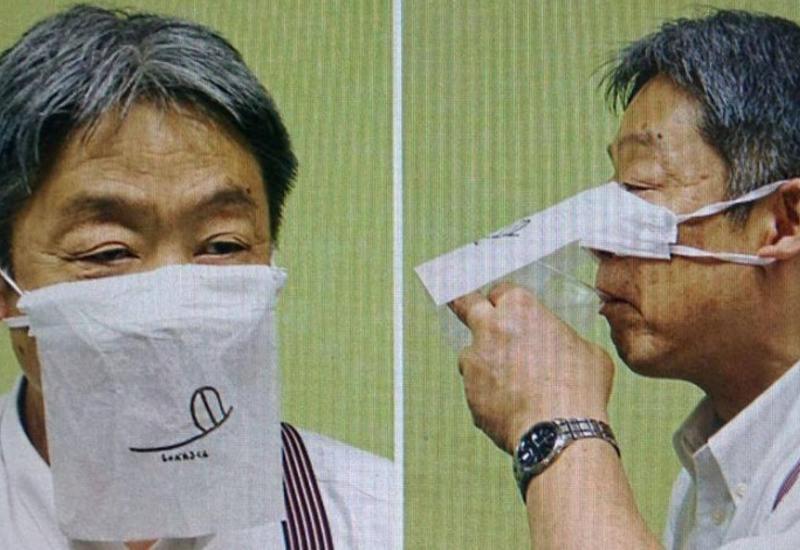 Ресторан в Японии создал защитную маску для использования во время еды