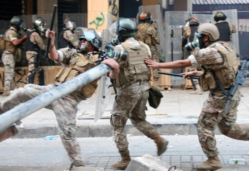 В Бейруте снова собираются протестующие