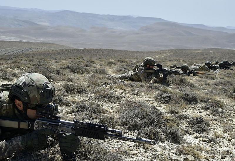 В азербайджано-турецкие учения привлечен спецназ