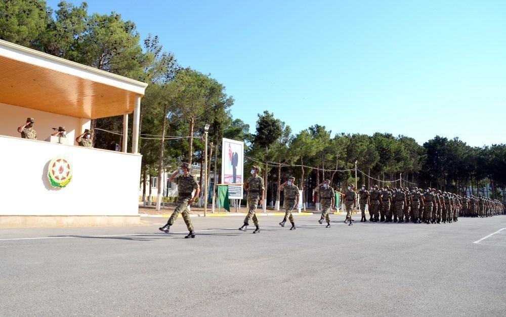 Солдаты азербайджанской армии принесли присягу