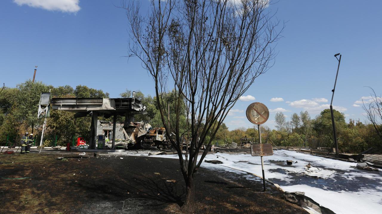 Столб огня в десятки метров: последствия взрыва на АЗС в Волгограде