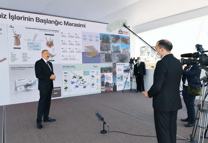 Президент Ильхам Алиев: Тогдашнее руководство Азербайджана – тандем НФА-Мусават - позволило оккупировать наши земли