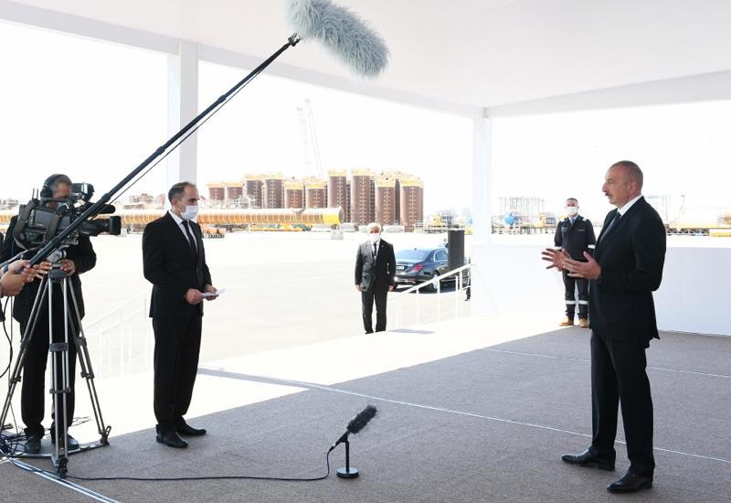 Президент Ильхам Алиев: Все проекты успешно реализуются