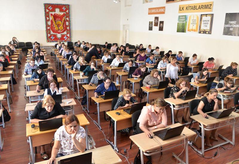В Азербайджане пройдут экзамены по приему на работу учителей