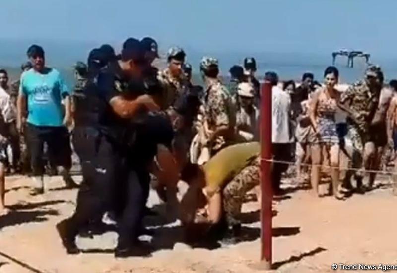 На пляже в Новханы утонула женщина