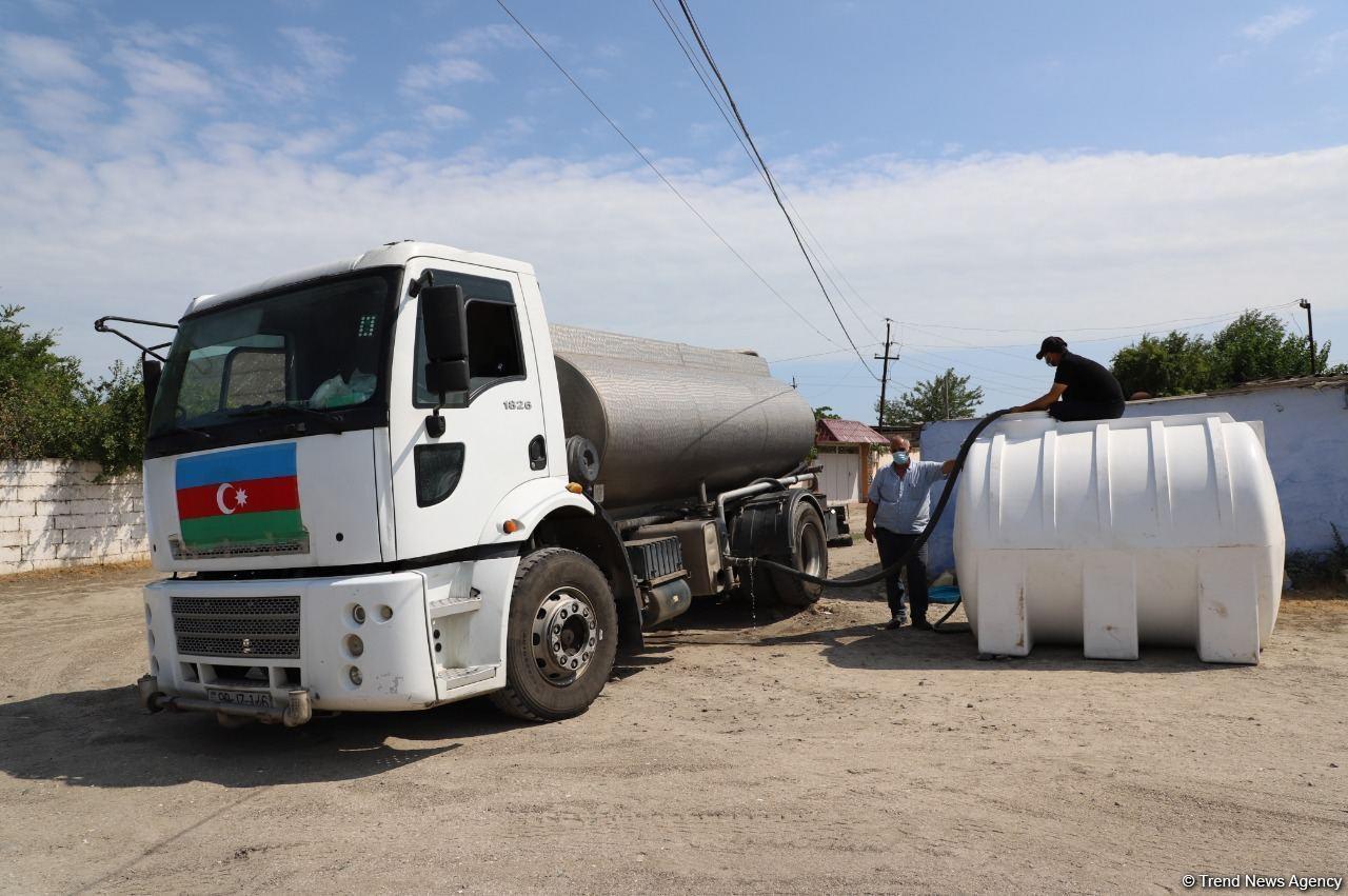 В Нефтчалинском районе Азербайджана приняты меры по разрешению проблем с питьевой водой