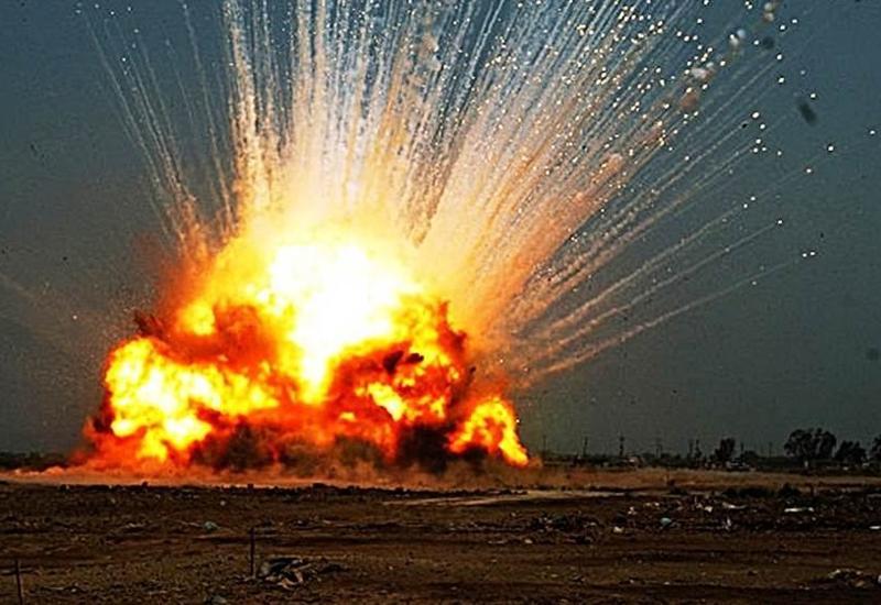 В районе границы Ирака и Кувейта произошел взрыв