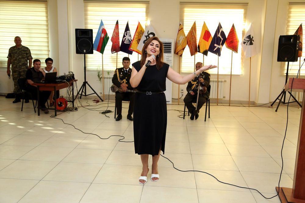 В воинской части Азербайджана проведено мероприятие, посвященное идеологической работе