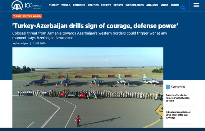 Турецкое агентство Anadolu опубликовало на своих страницах интервью с депутатом Cевиль Микаиловой об азербайджано-турецких отношениях