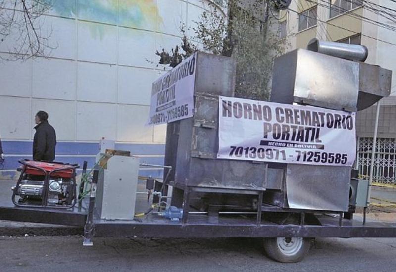 Трупы повсюду: по улицам Боливии ездит передвижной крематорий