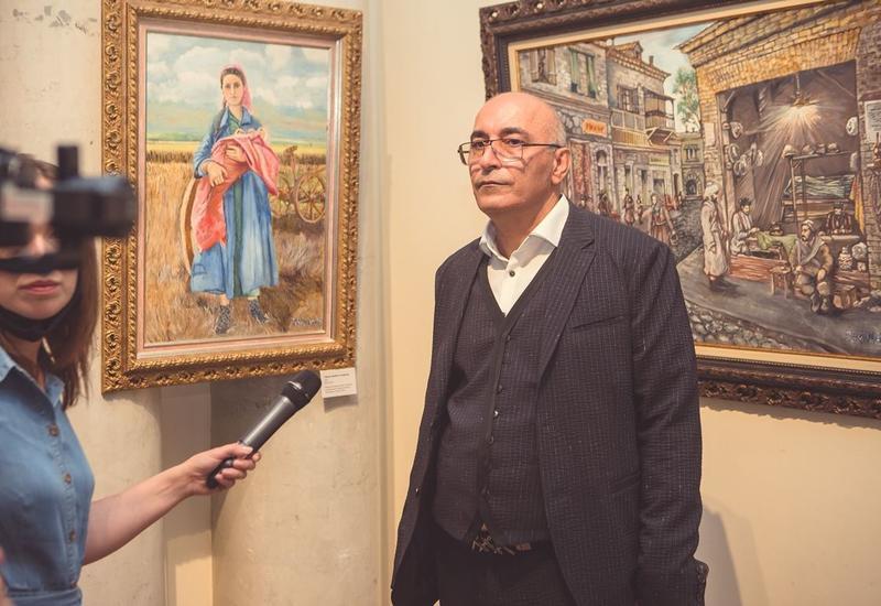 В Москве открылась выставка картин бакинского художника