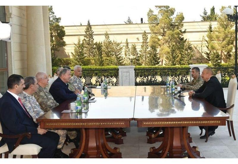 Президент Ильхам Алиев: Военные учения - очередное проявление турецко-азербайджанского единства, братства