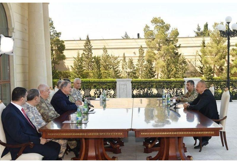 Президент Ильхам Алиев: Эти учения вызывают обеспокоенность в некоторых странах