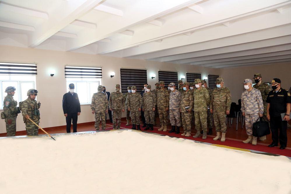 """В рамках азербайджано-турецких совместных учений прошел """"День высокопоставленных наблюдателей"""""""