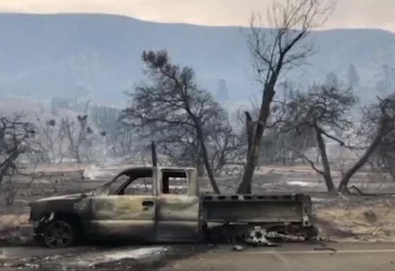 Калифорния вновь горит