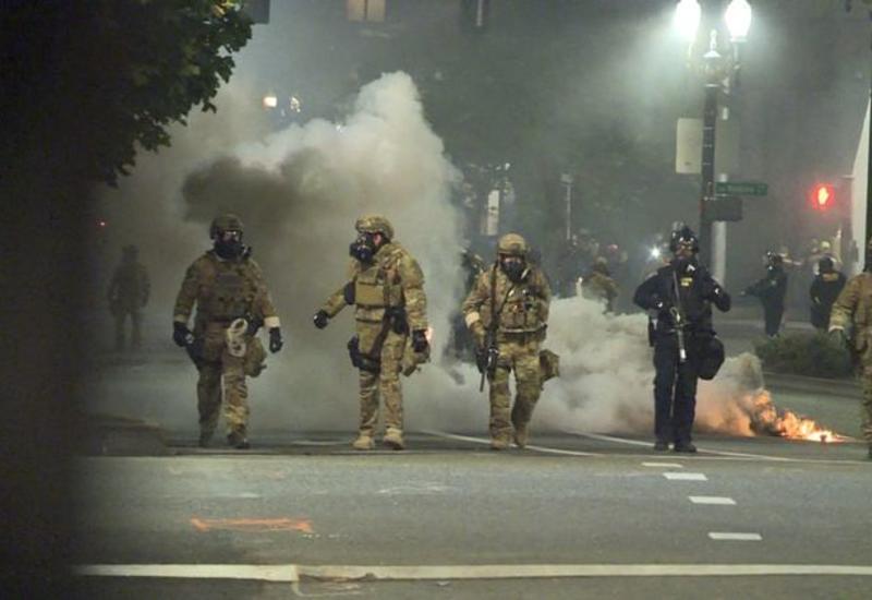 Беспорядки в Портленде вспыхнули с новой силой
