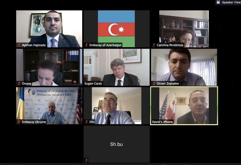 Послы стран-членов ГУАМ в США обсудили дипломатическое сотрудничество