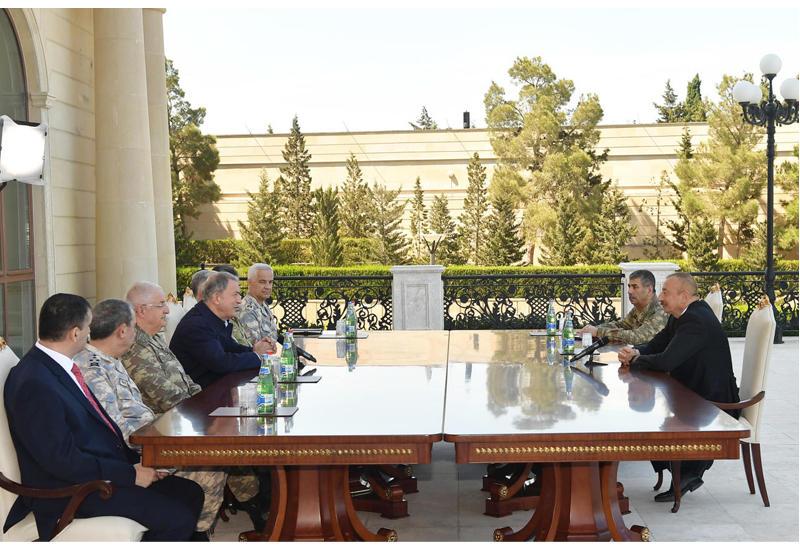 Встреча Президента Ильхама Алиева с военным руководством Турции вызвала панику в Армении