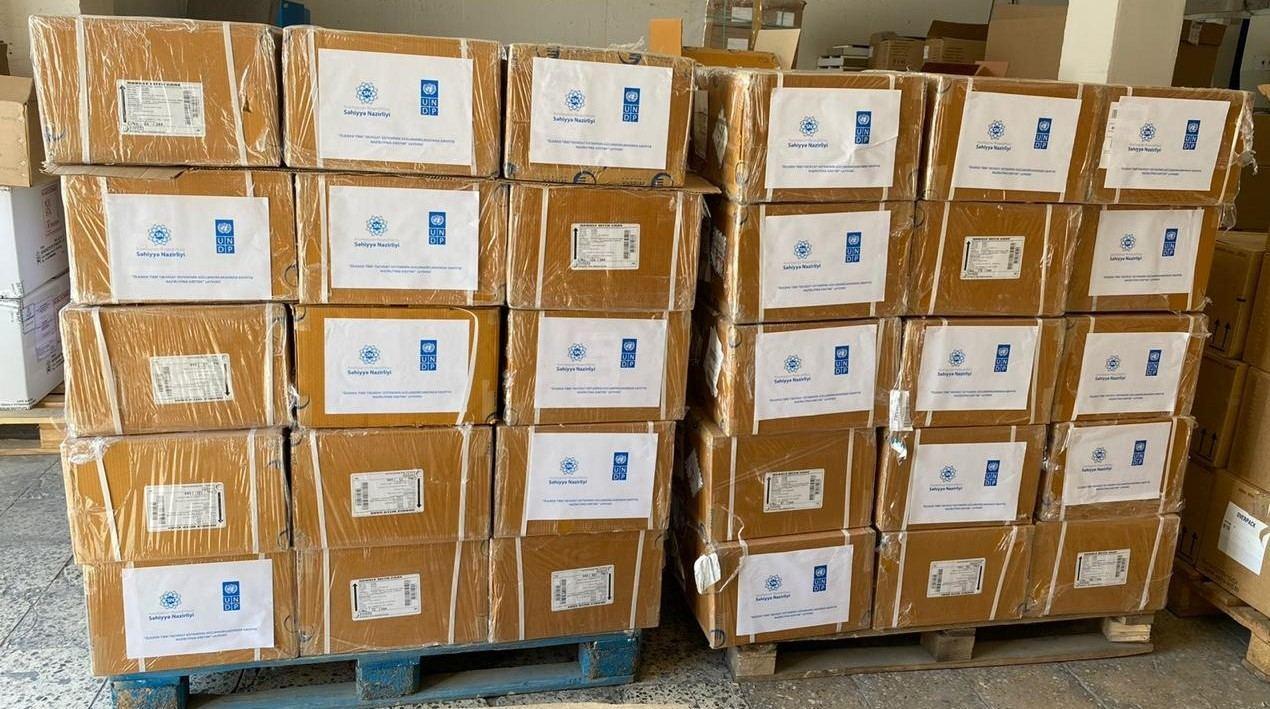 По линии ООН в Азербайджан доставлено свыше 5000 упаковок лекарств
