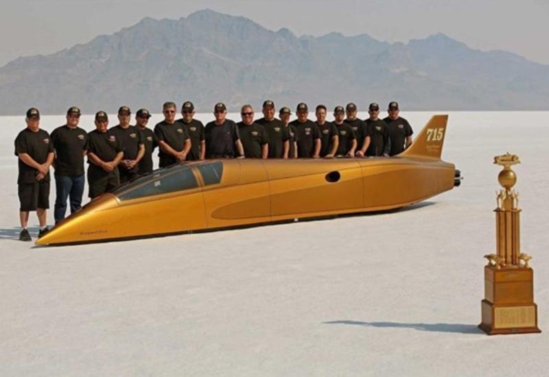 В США установили мировой рекорд скорости передвижения по земле