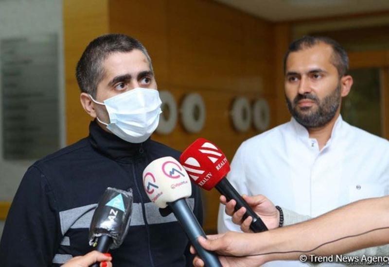 Выздоровевший от коронавируса врач Джавид Пашаев выписан домой