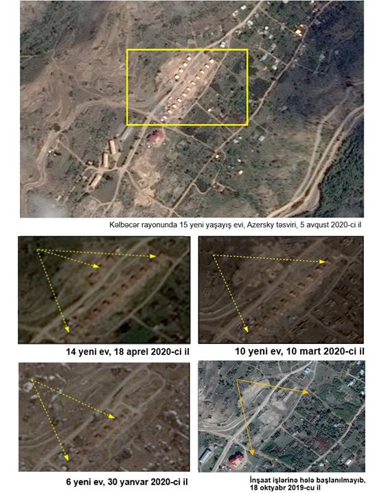 В оккупированном Арменией Кельбаджаре создано новое незаконное поселение