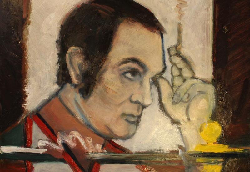 Российская художница посвятила выставку Муслиму Магомаеву