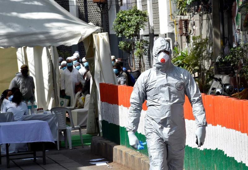 В Индии опасаются роста числа случаев заражения COVID-19