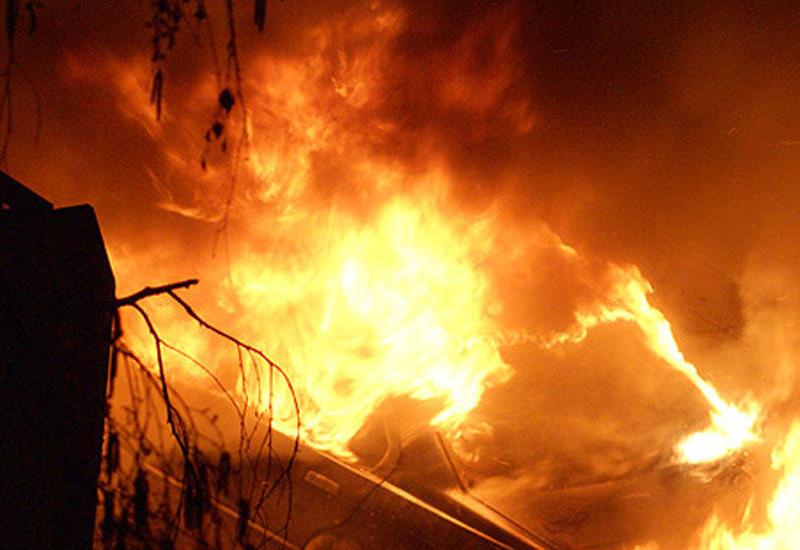 В Азербайджане произошел пожар