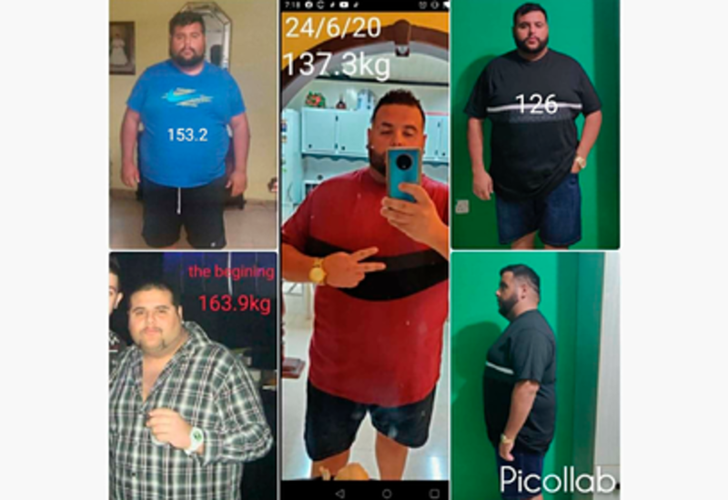 Мужчина на карантине похудел на 40 килограммов