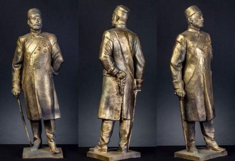 Народный художник назвал причину задержки открытия памятника Гаджи Зейналабдину Тагиеву