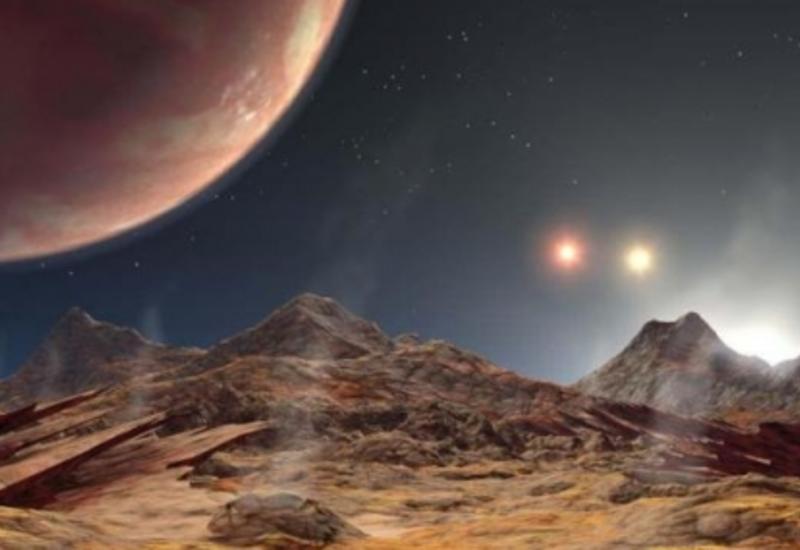 Астрономы нашли предполагаемую планету с тремя солнцами